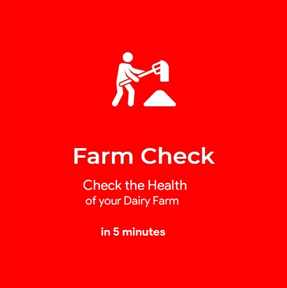 Check the health of your dairy and learn dairy farming online