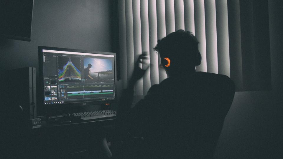 Editing in the dark