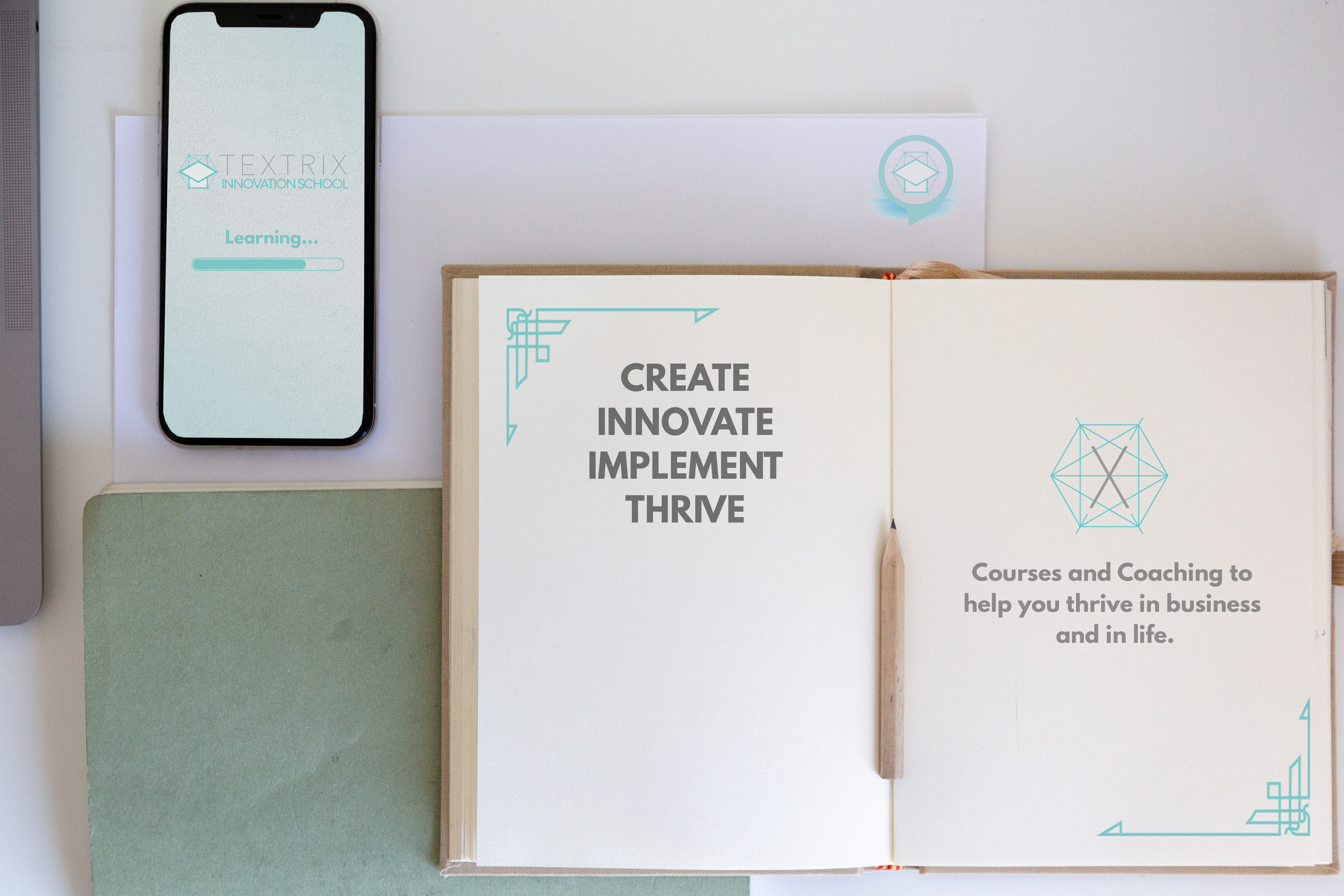 Create, Innovate, Implement, Thrive - Courses and coaching to help you thrive in business and life.