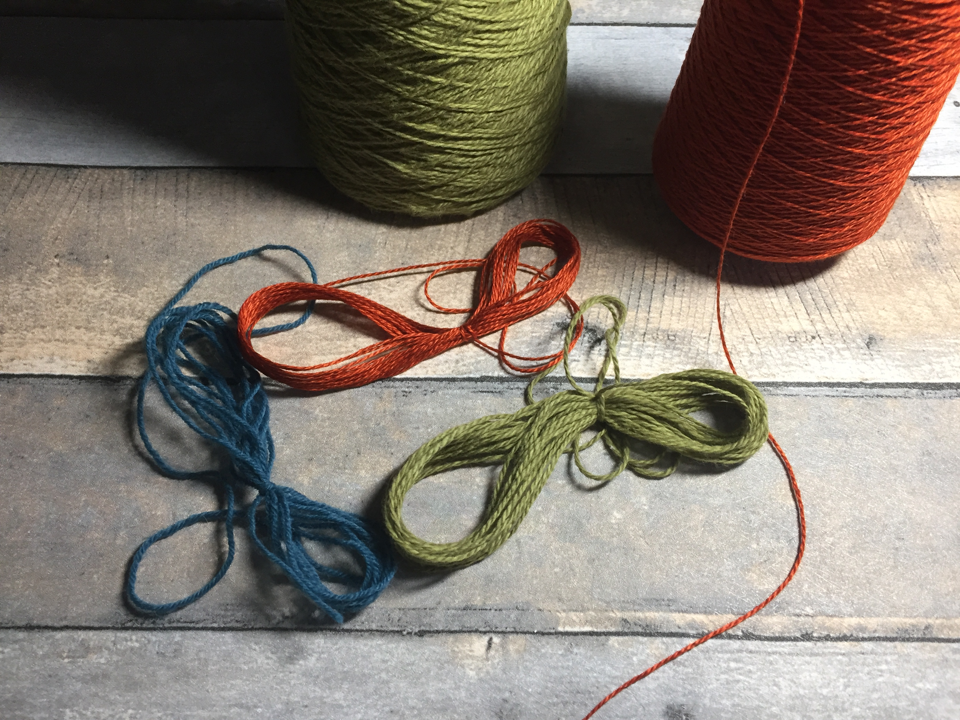 yarn butterfly bobbin