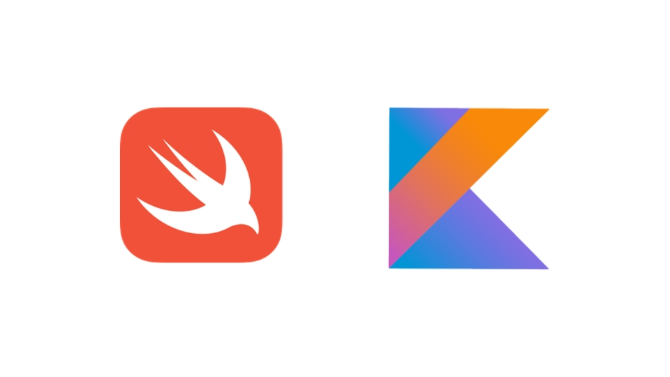 Logos Swift et Kotlin