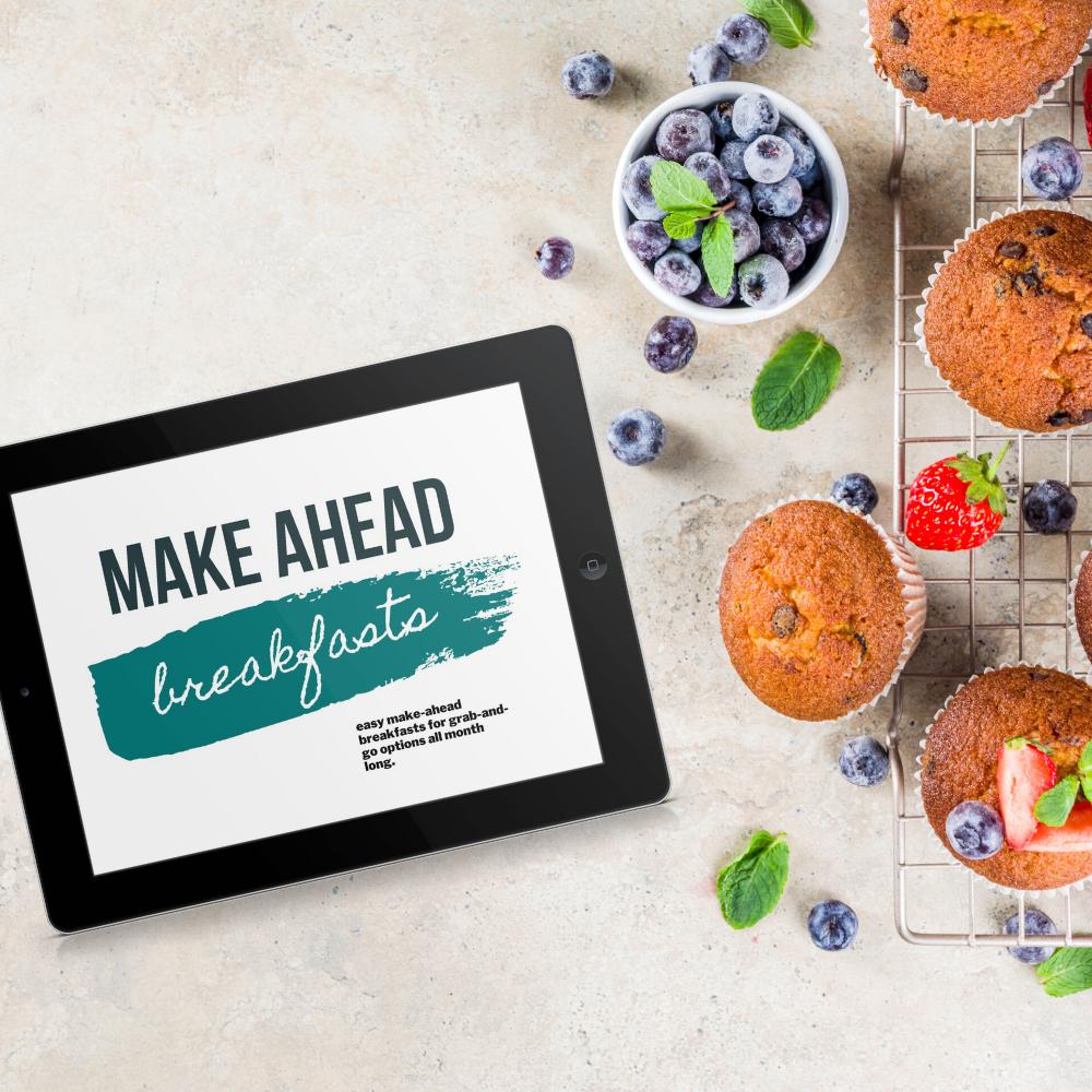 make ahead vegetarian breakfast recipes
