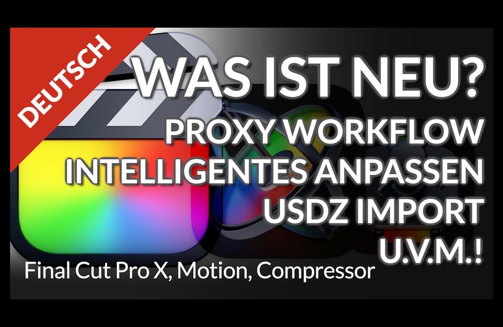 Das ausführliche Final Cut Pro 10.4.9 Update Tutorial!