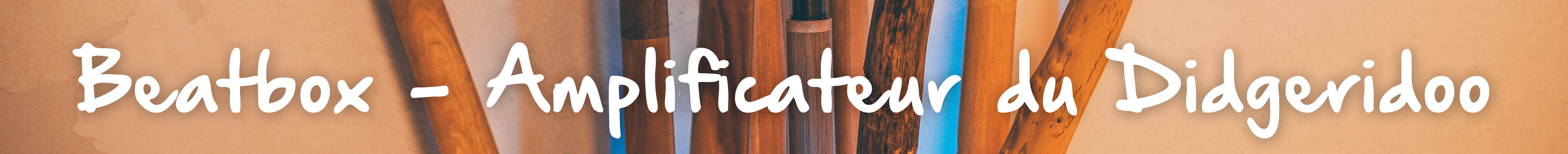 Beatbox - Amplificateur du Didgeridoo