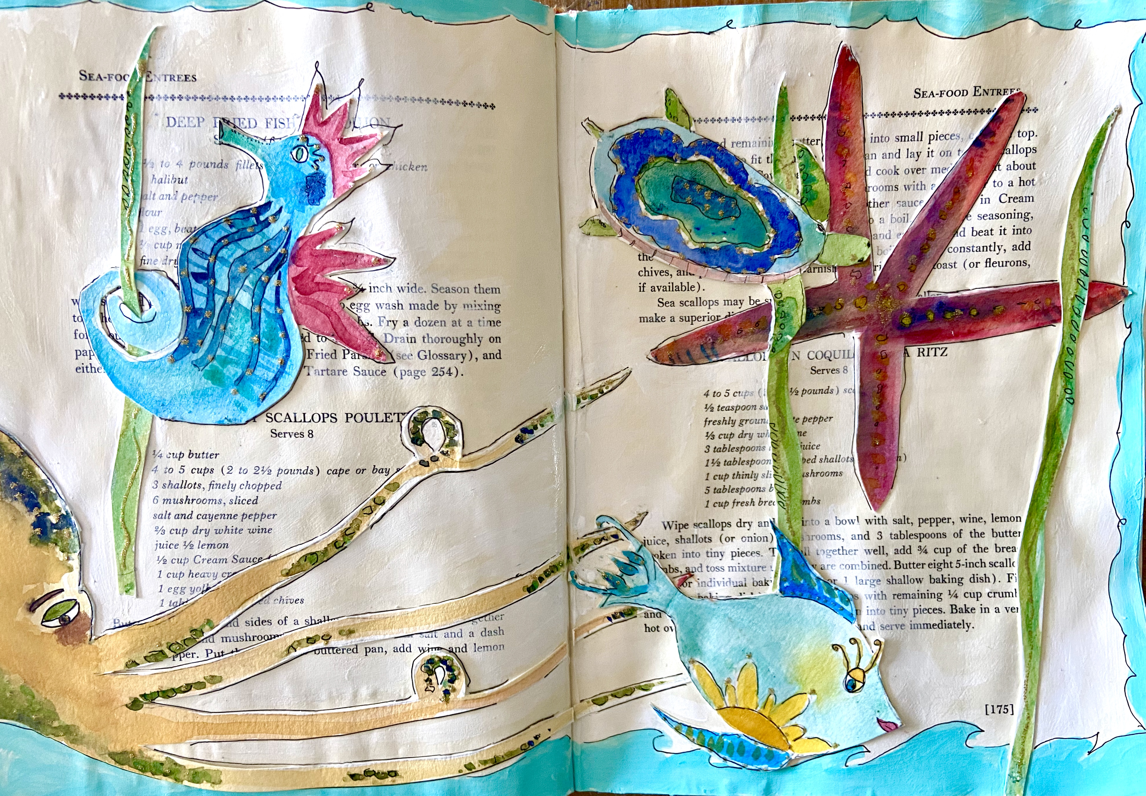Art Journaling Under the Sea