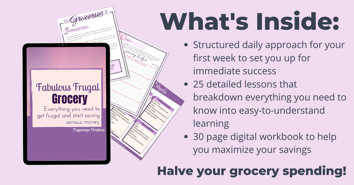 picture mock up of grocery course including 4 pictures of worksheets that are included
