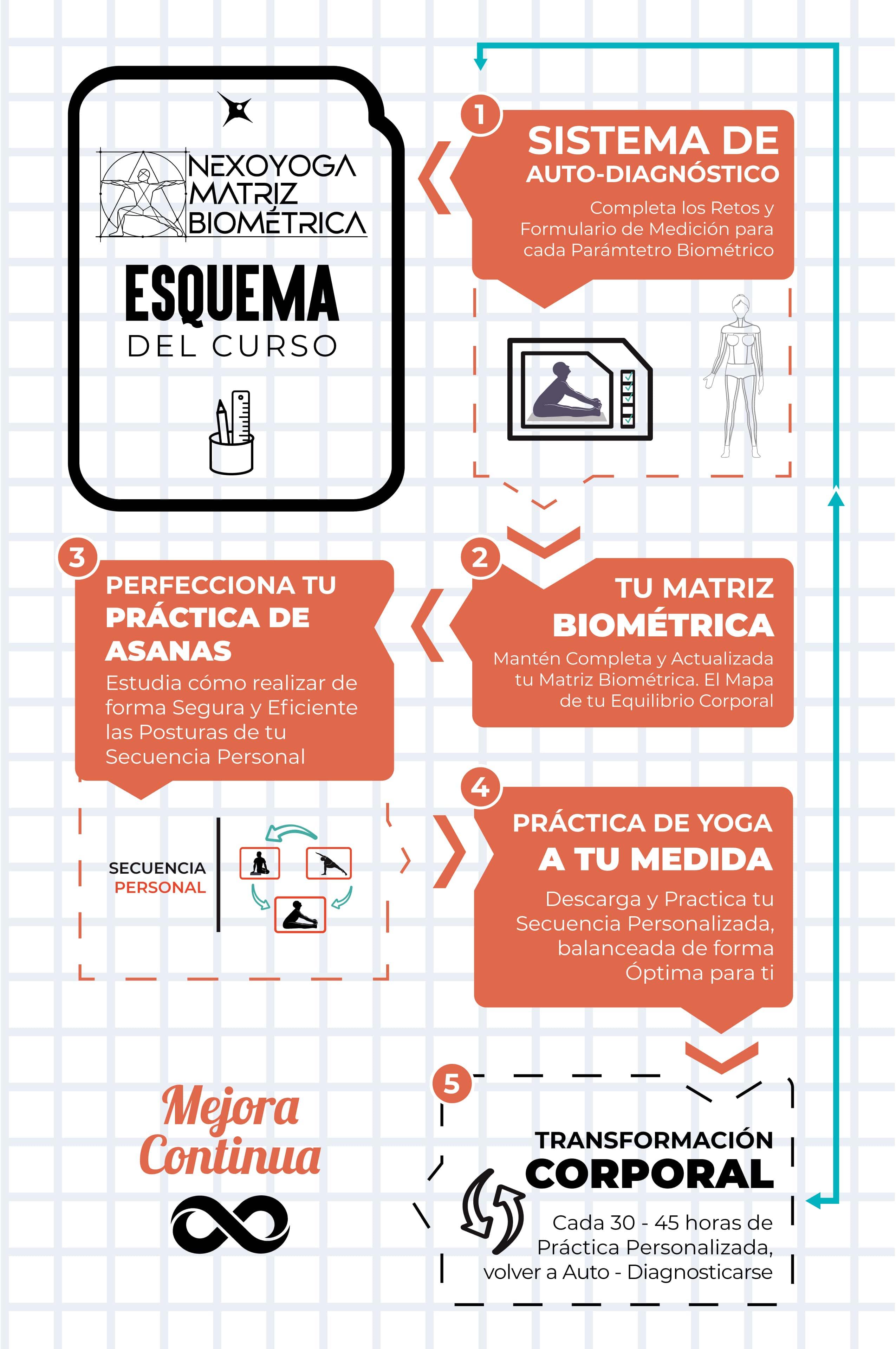 Como Utilizar el Curso Matriz Biométrica de NEXOYOGA