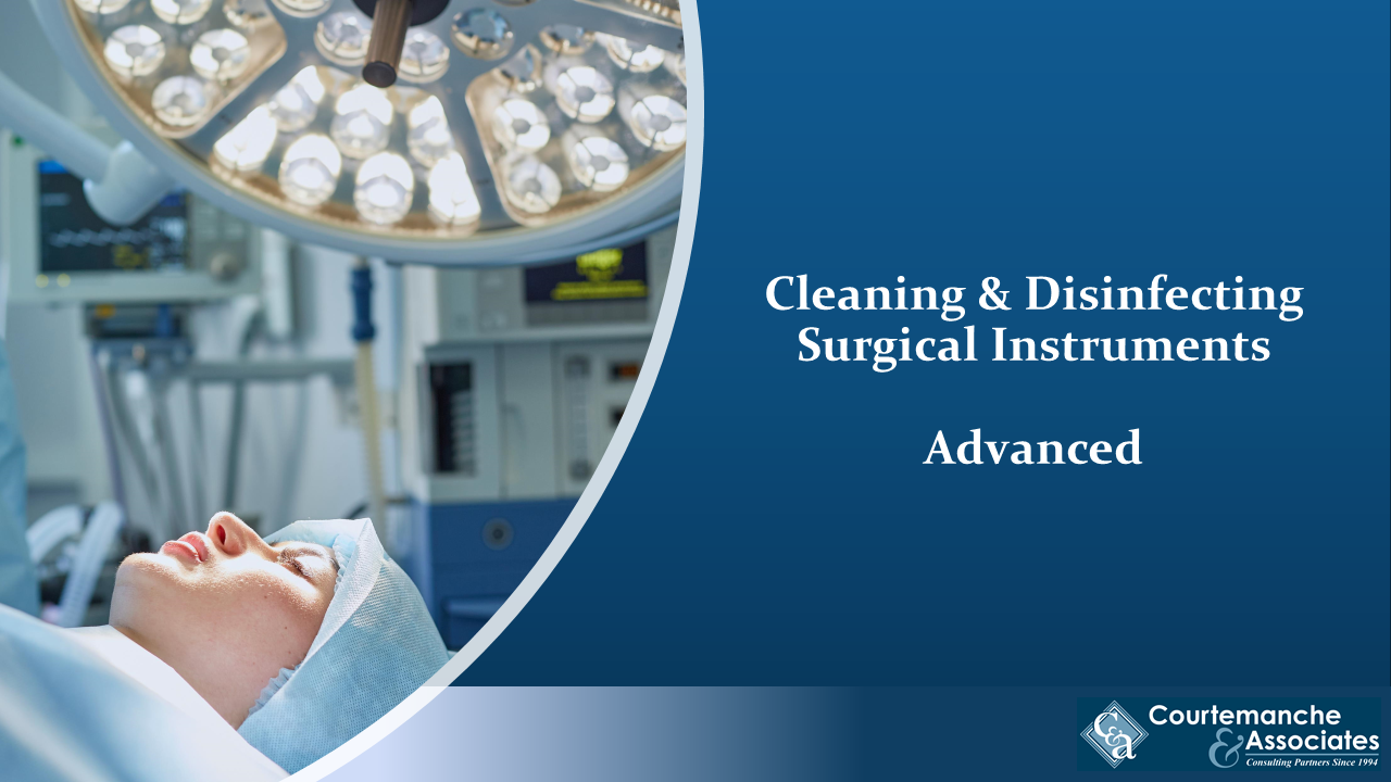 Cleaning & Disinfecting Surgical Instruments