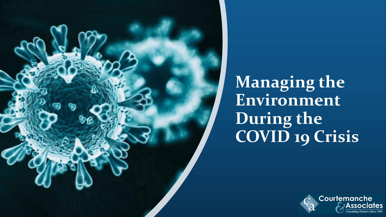 Learn how to manage the environment during Pandemics