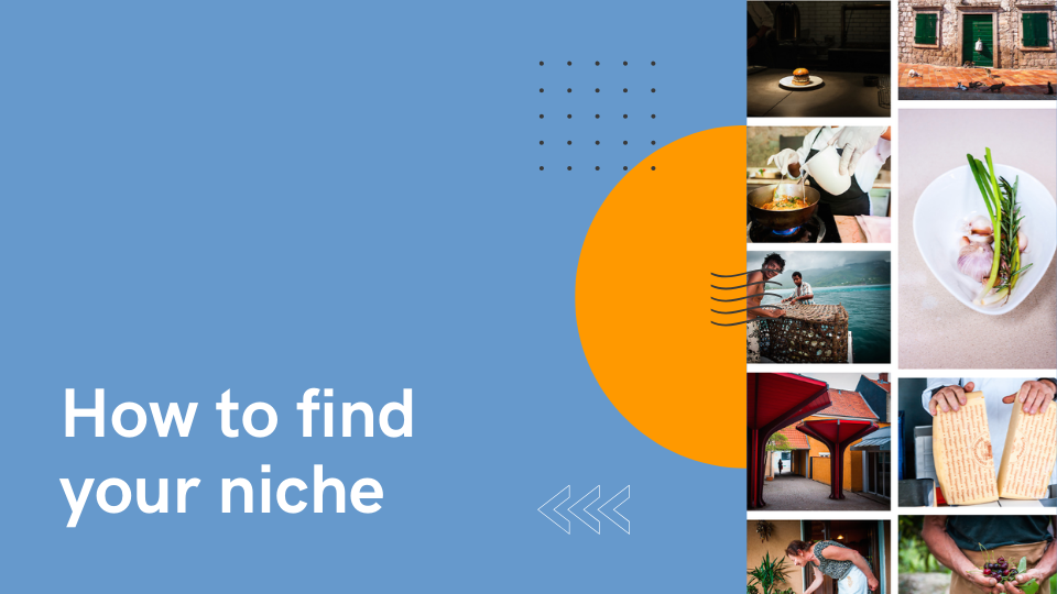 How to find your niche  - Lola Akinmade Åkerström