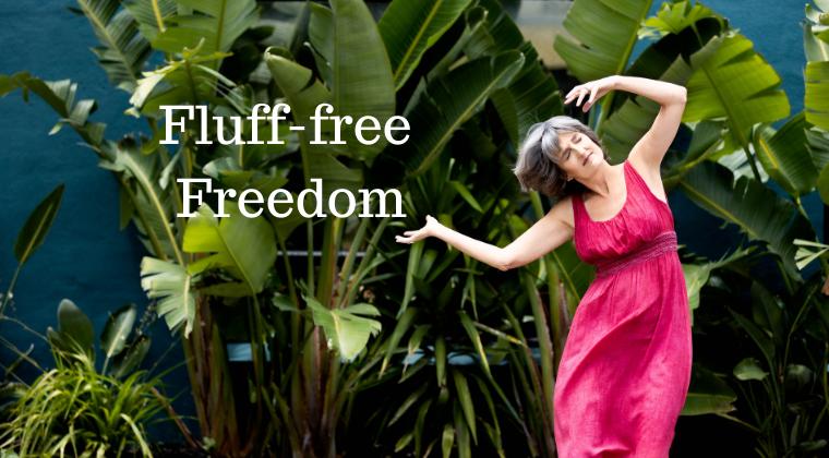 Picture of Sarasvati feeling freedom in everyday life