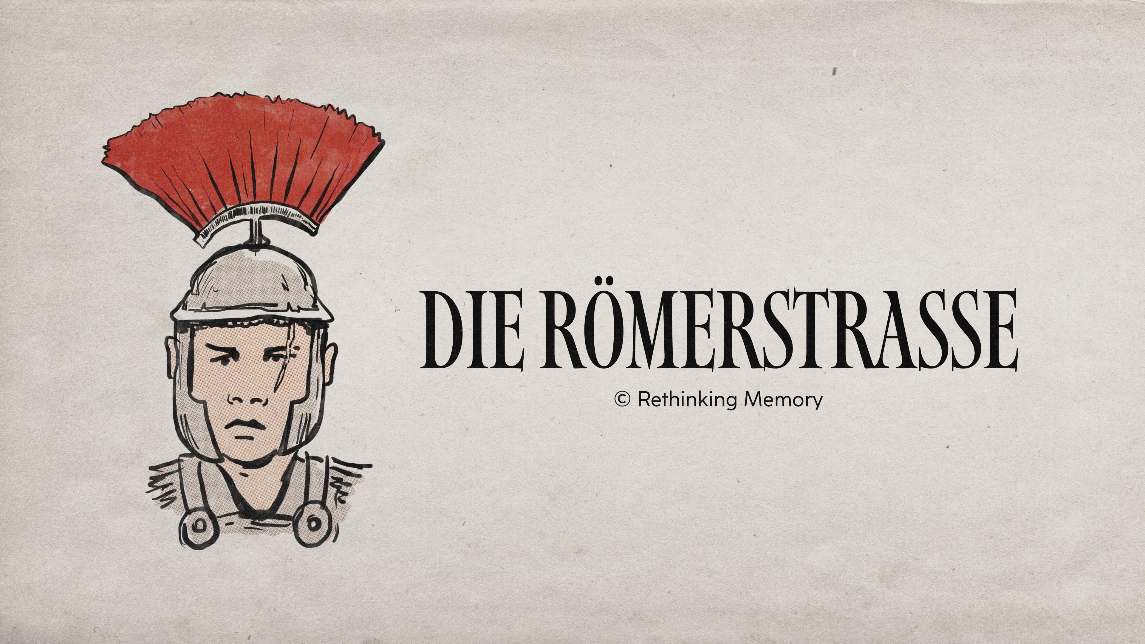 Die Römerstraße Logo