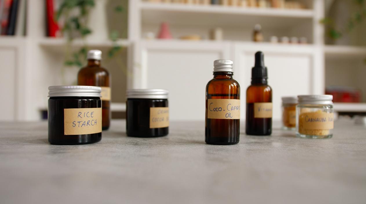 Ingredients for shampoo bar making   Bottega Zero Waste