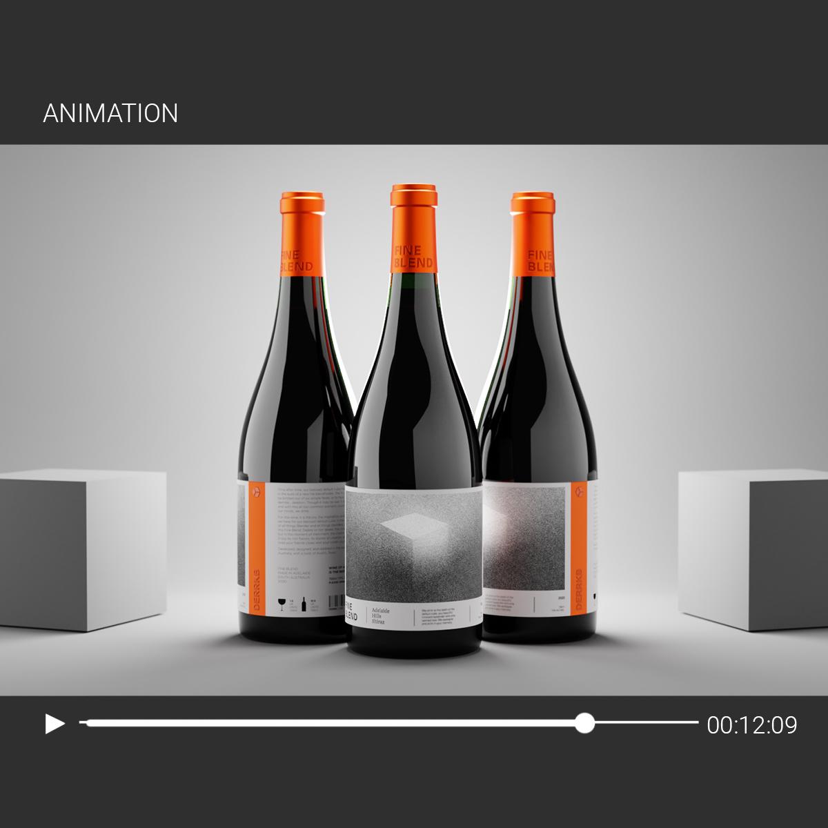 Animation of Bottle
