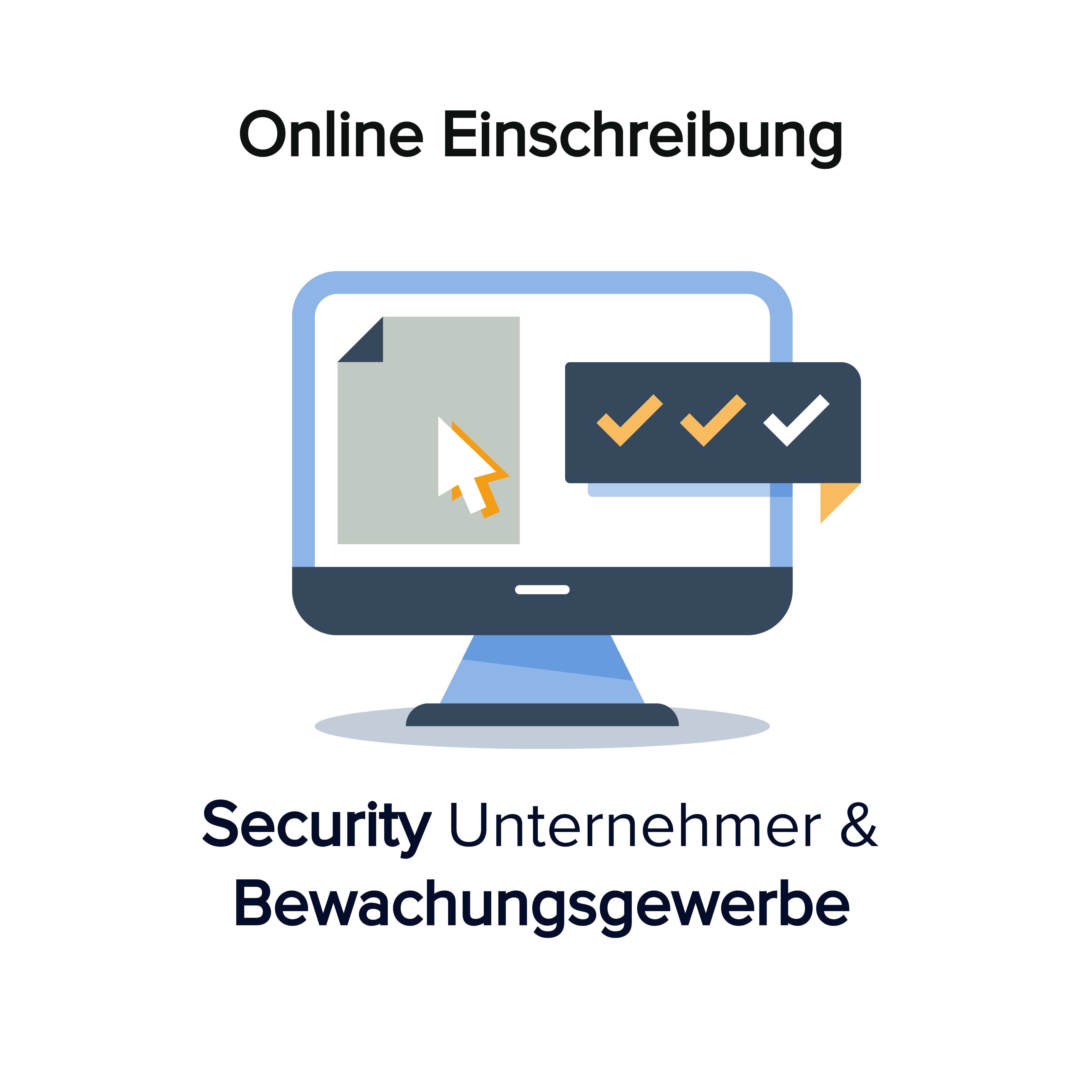Online Kurs Einschreiben Bewachungsgewerbe Security Unternehmer