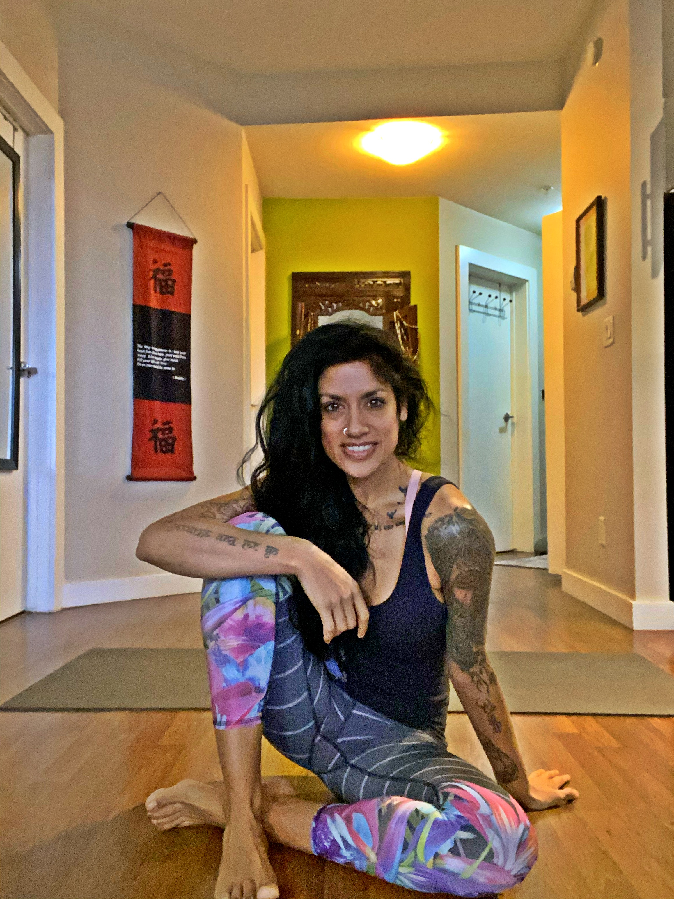 Becca Pati, Yoga, vinyasa, meditation, hatha, beginner, intermediate, advanced, flow, gentle, strength, core, workout,, stretching, runners,