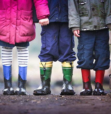 forest school children