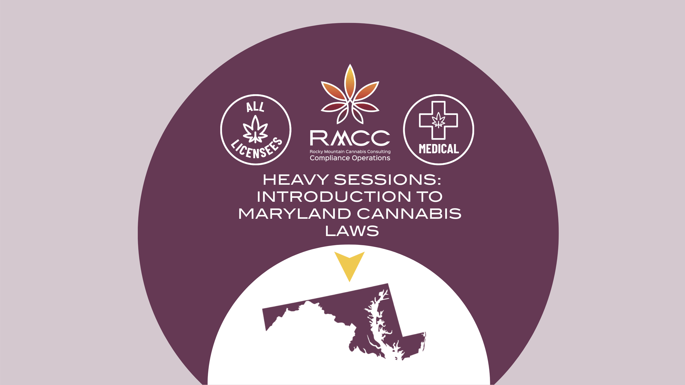 RMCC HEAVY SESSION Introduction to Maryland Cannabis Laws