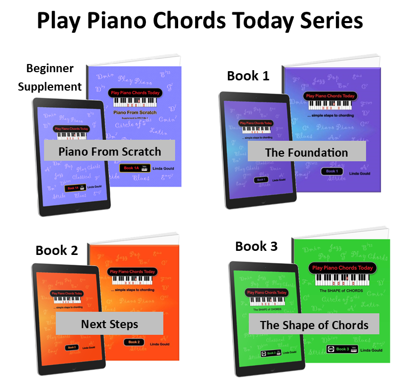 Play Piano Chords Today Method Books