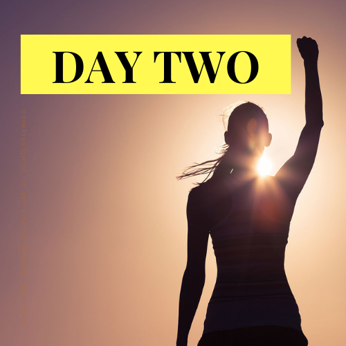 day 2 live challenge reclaim your powa