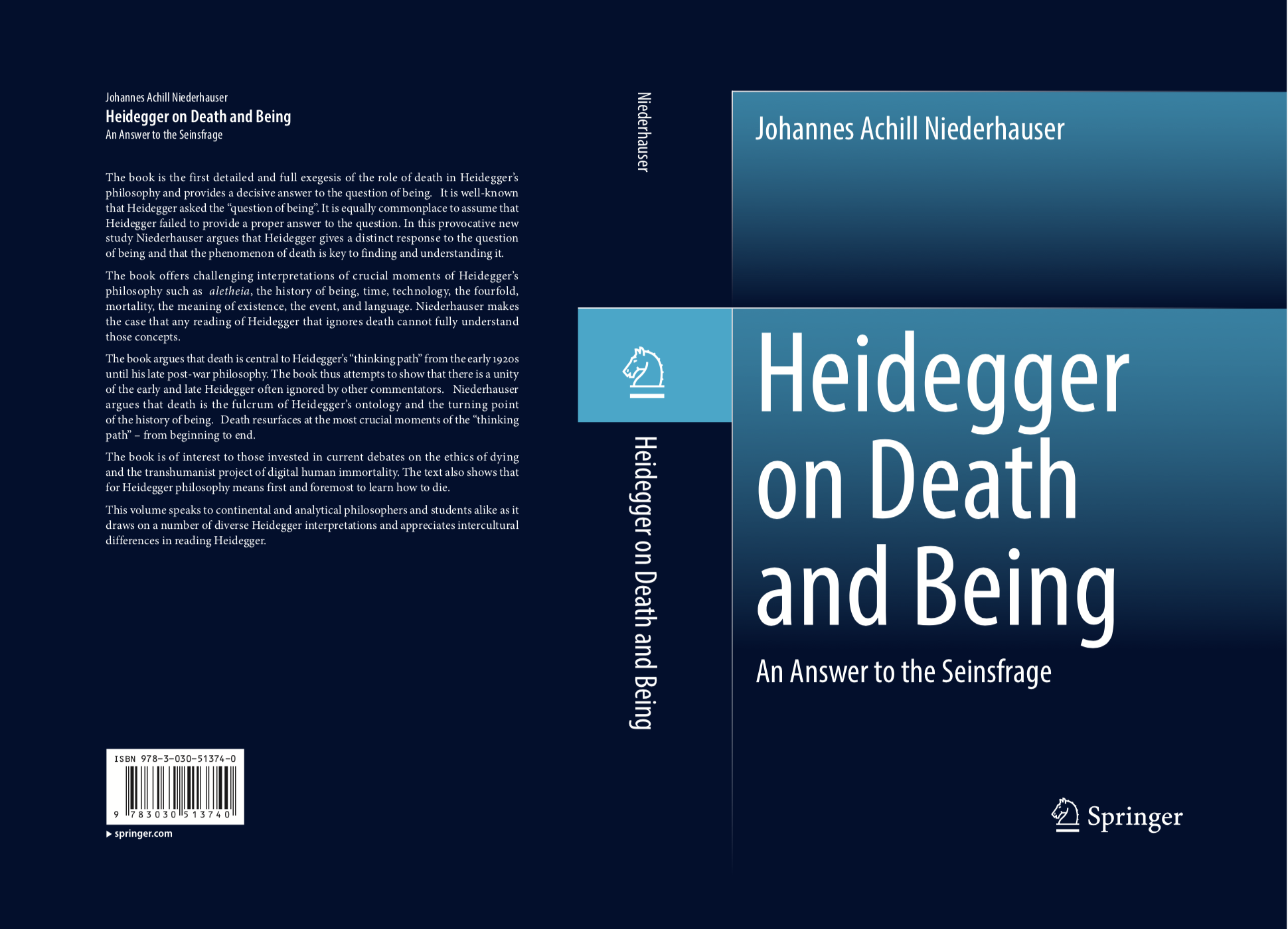 heidegger death book
