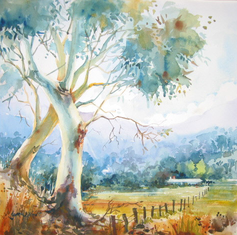 Intermediate Classes for watercolour painters on demand online with Jenny Gilchrist and Northern Beaches Watercolour