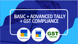 Basic + Advanced Tally Prime + GST Compliance