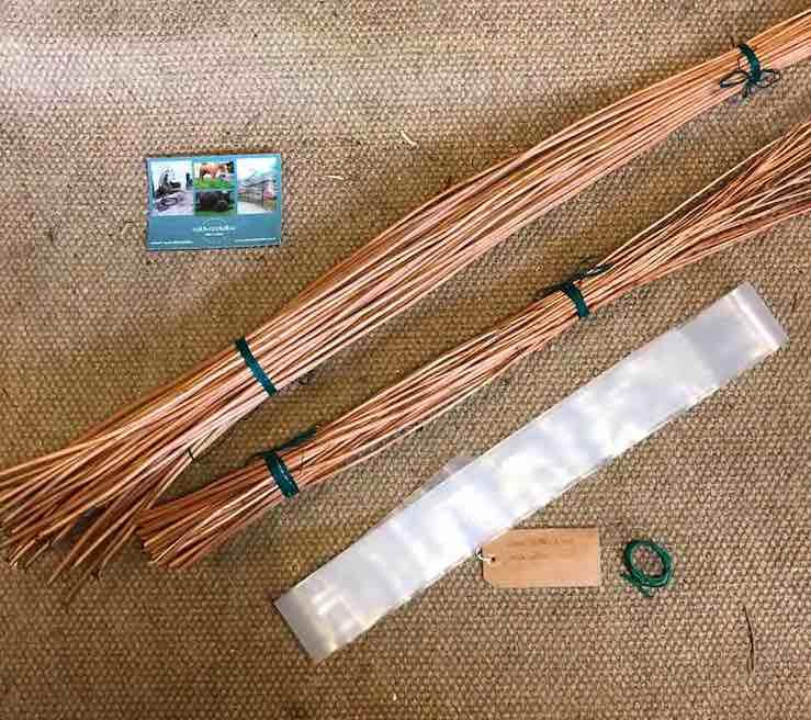 fruit basket weaving kit