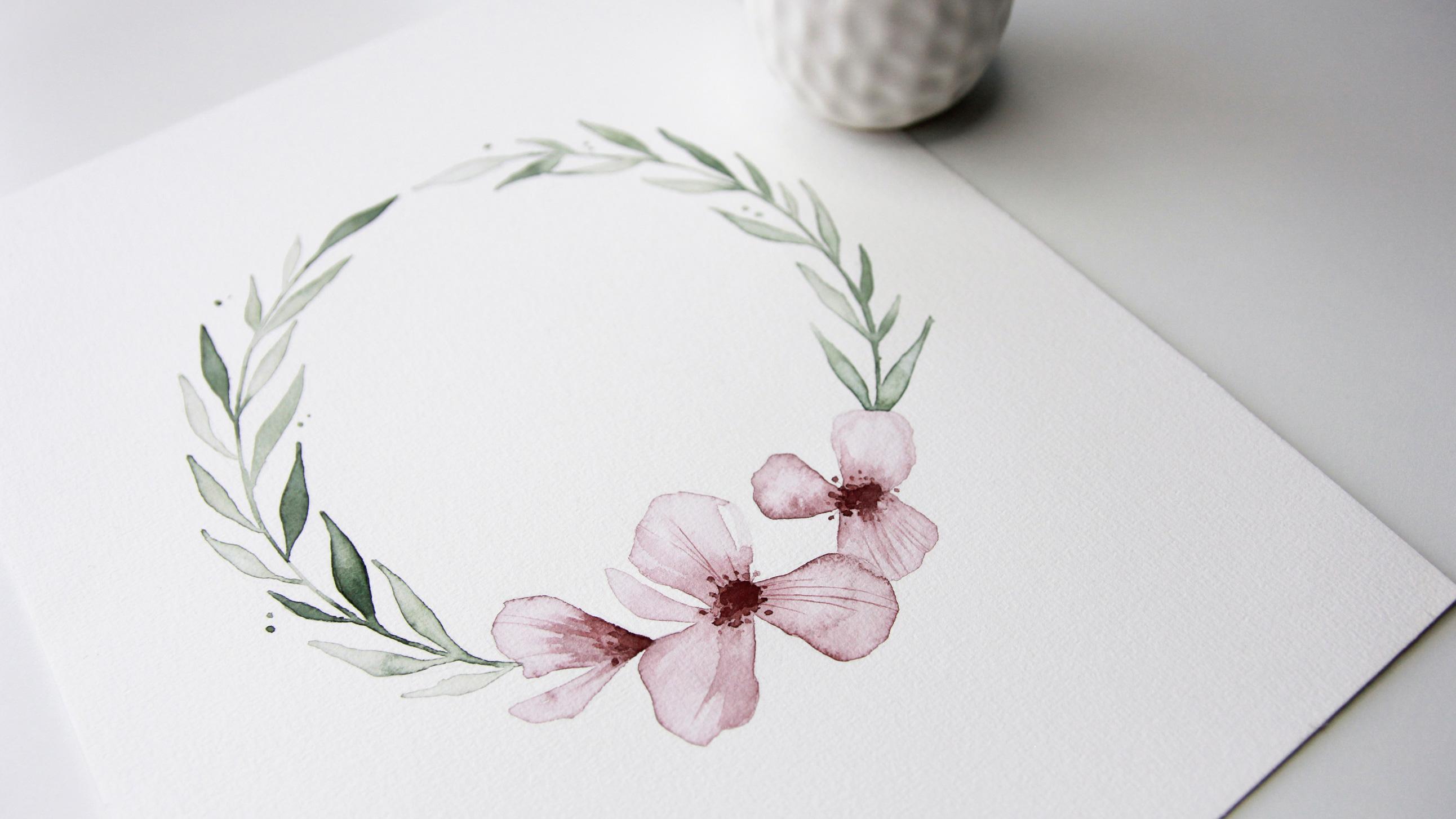 bloom creatives art classes floral wreath