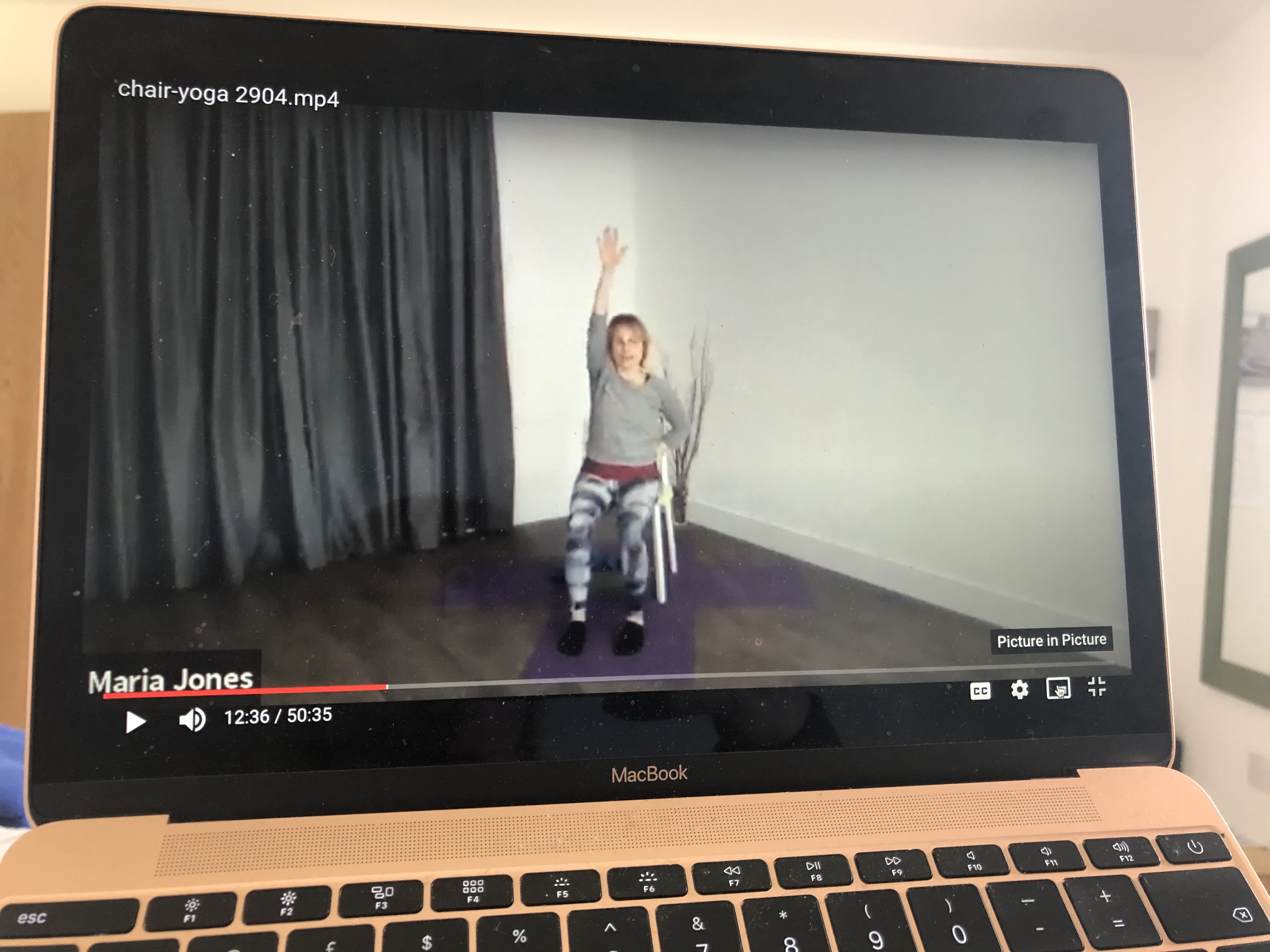 Yuva Yoga chair based yoga online