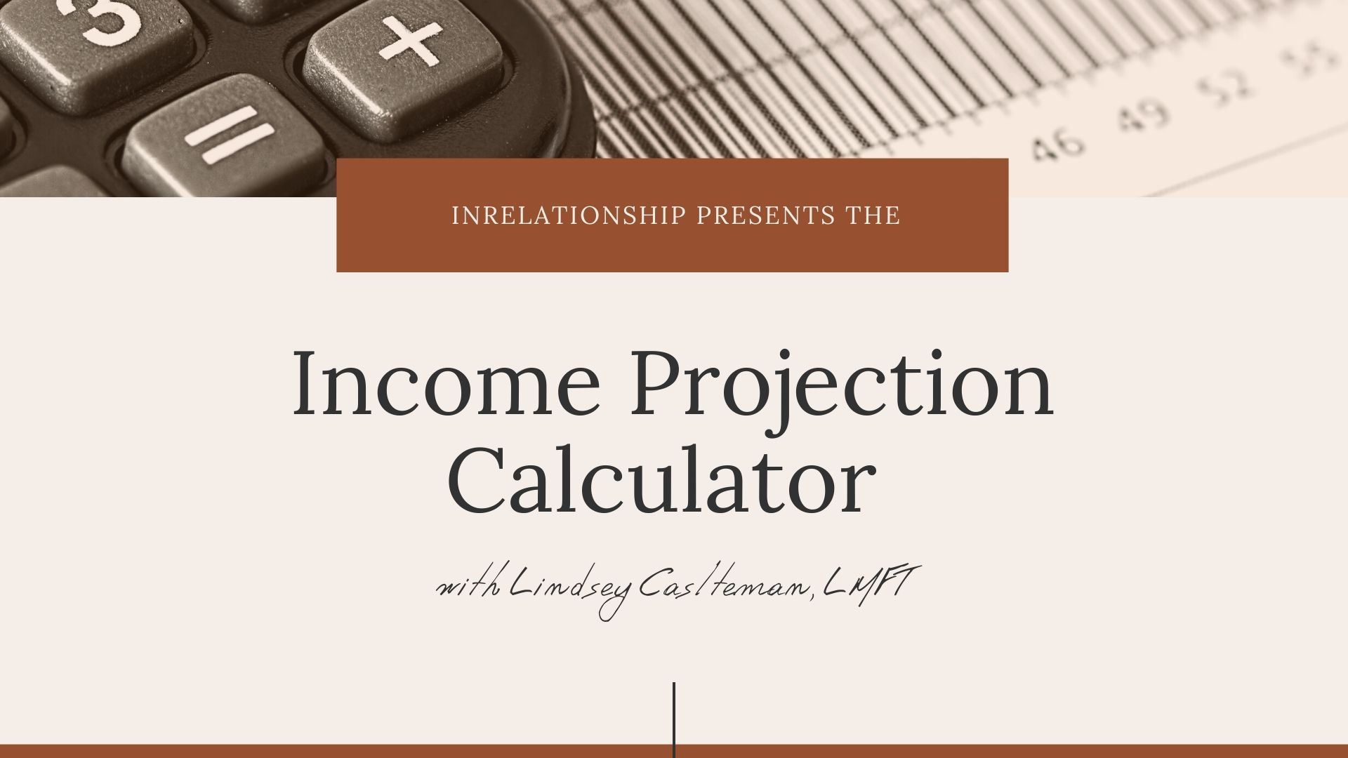 Income Projection Calculator