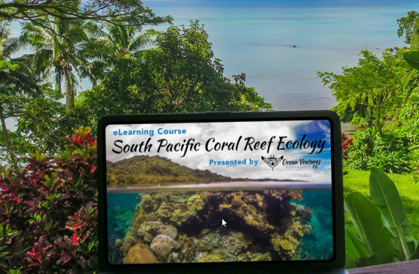 Scuba Diving Education Conservation Ecology PADI eLearning Training Courses Savusavu Fiji