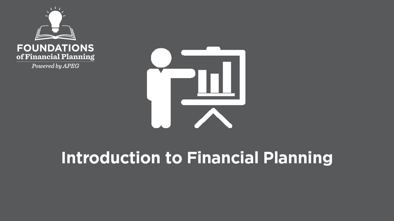 APEG Intro to Financial Planning
