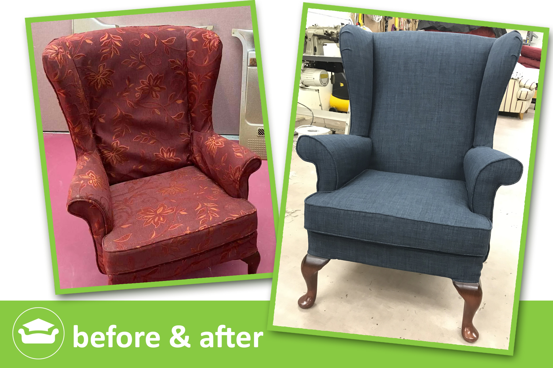 learn to make loose covers for a parker knoll chair