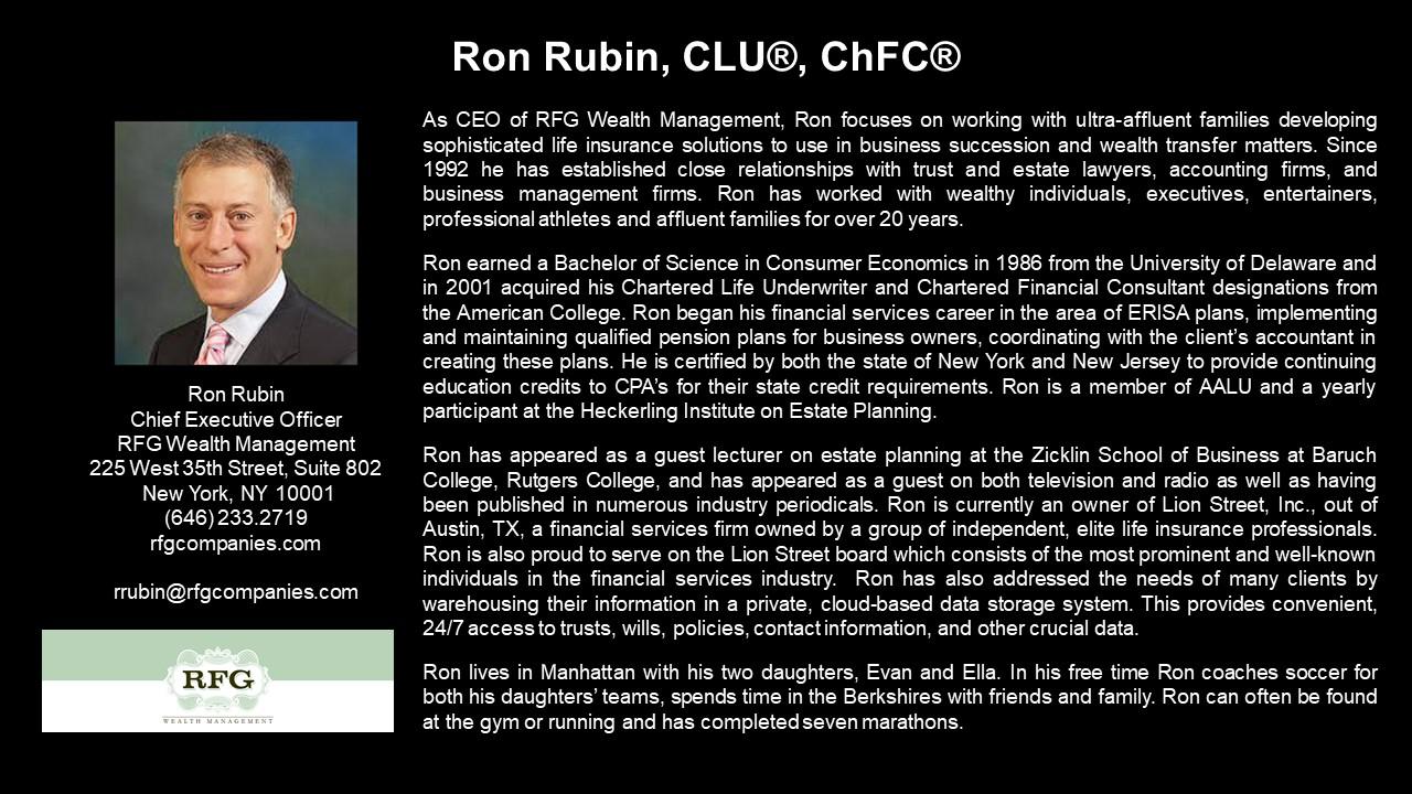 APEG Ron Rubin