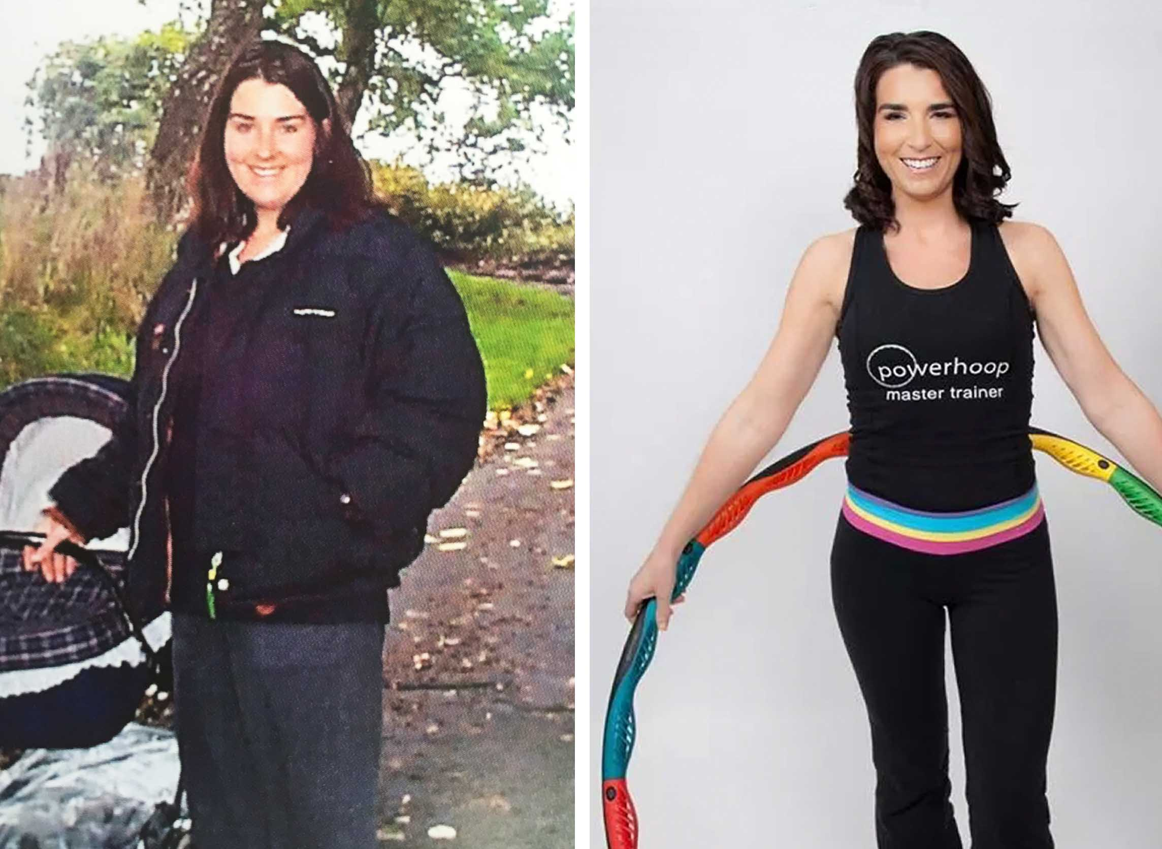 Amy before and after Powerhoop