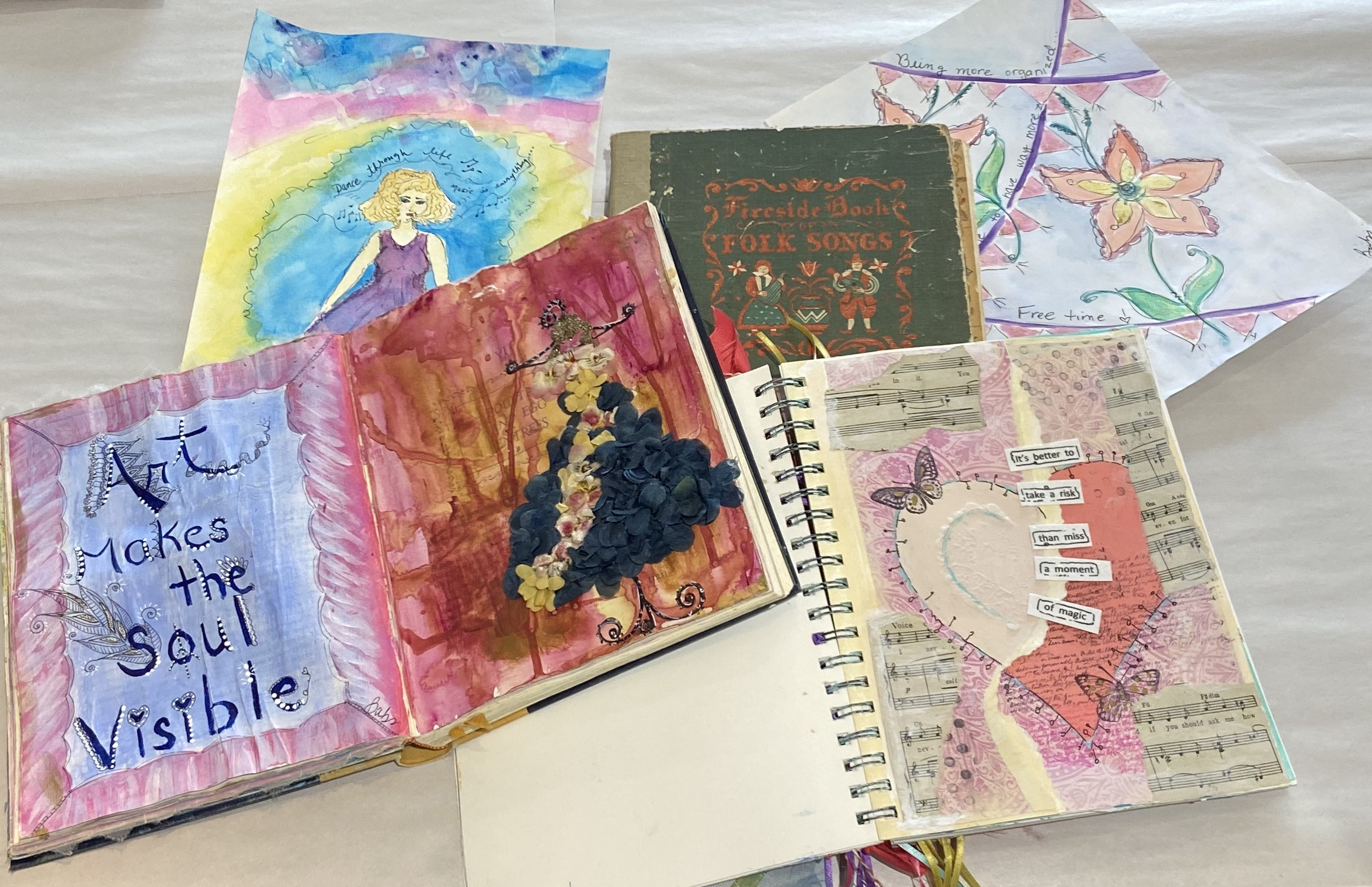 Altered Book for Art Journaling