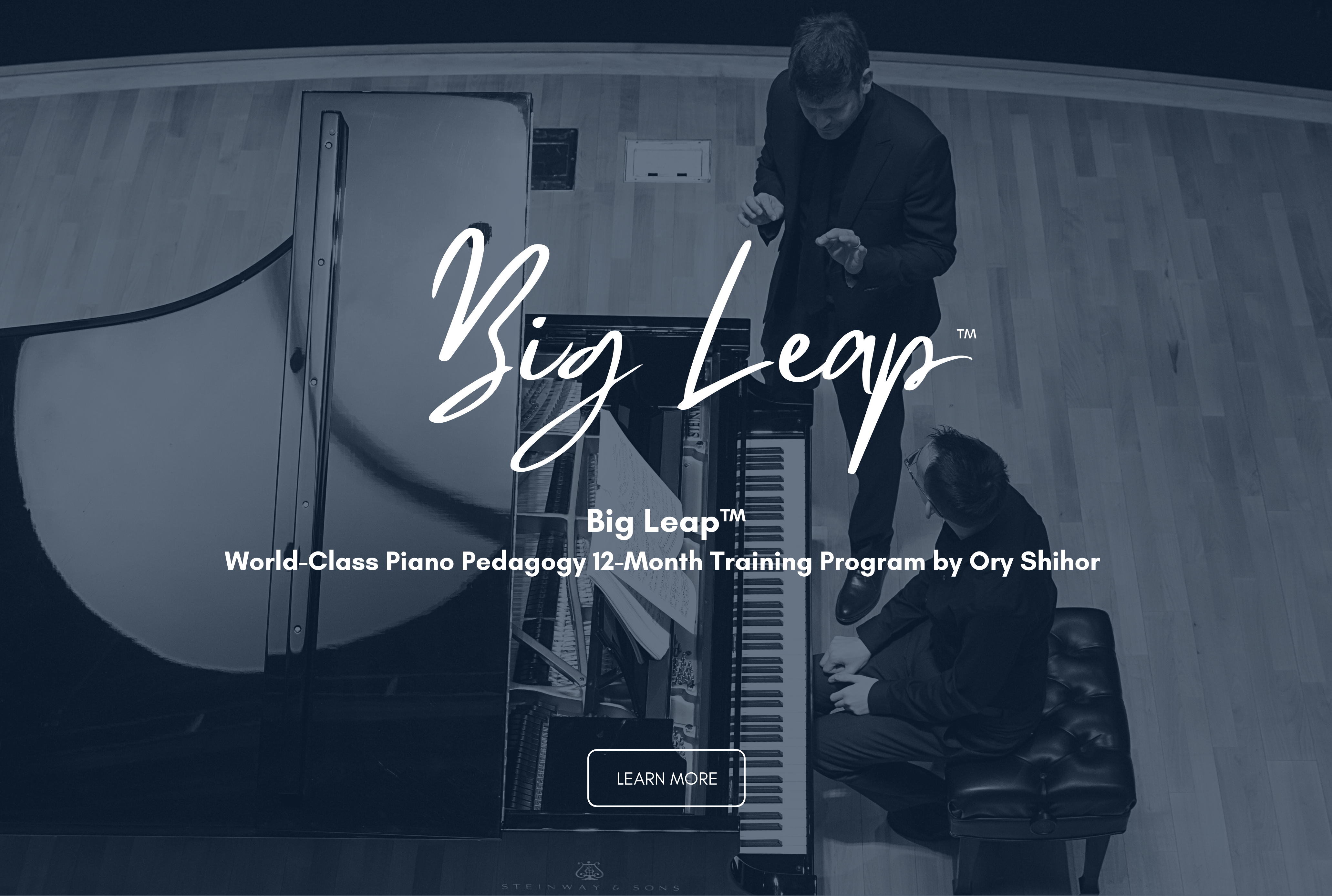 Ory Shihor Piano Pedagogy Big Leap