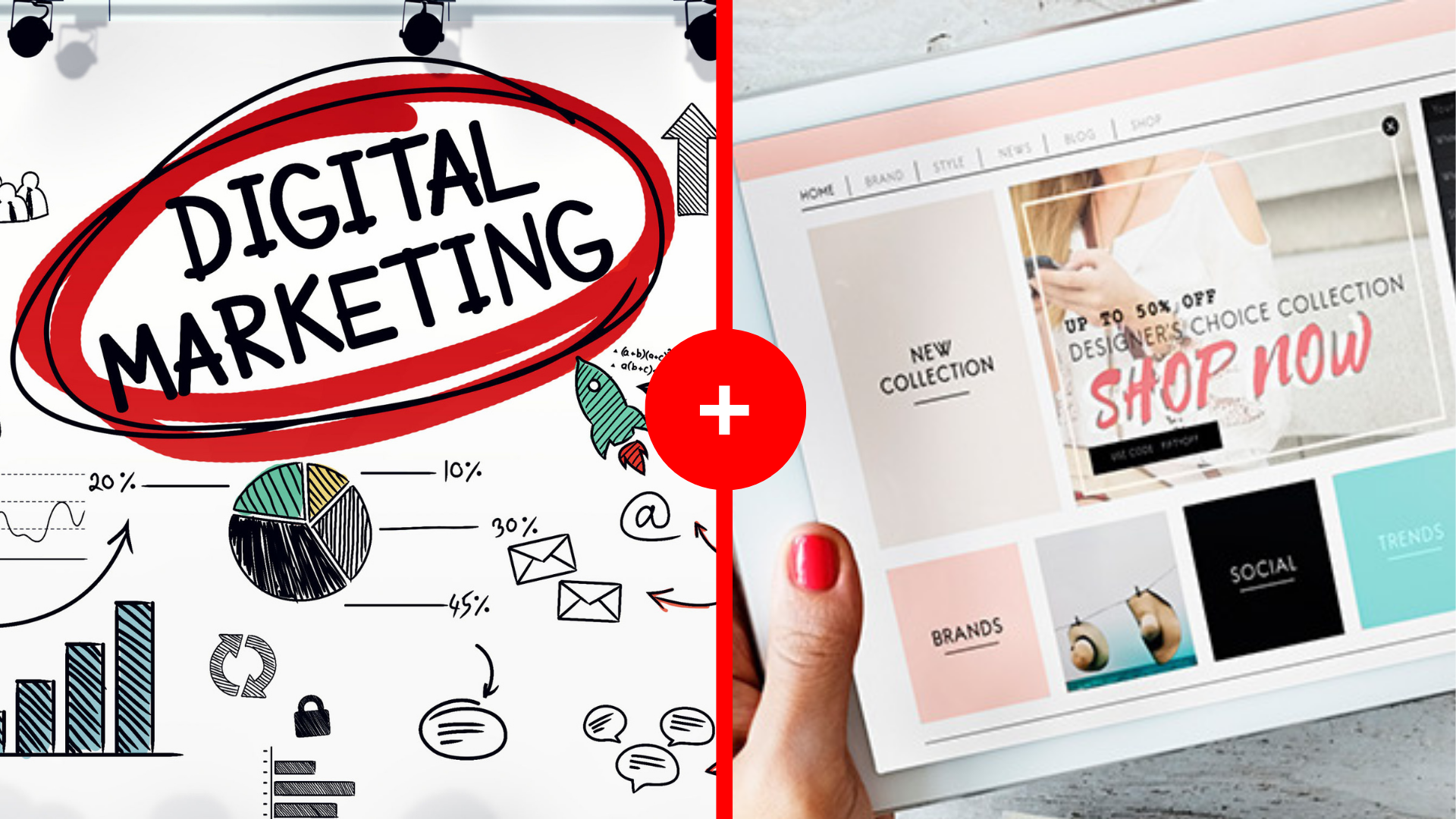 Curso de Marketing Digital + Curso de eCommerce