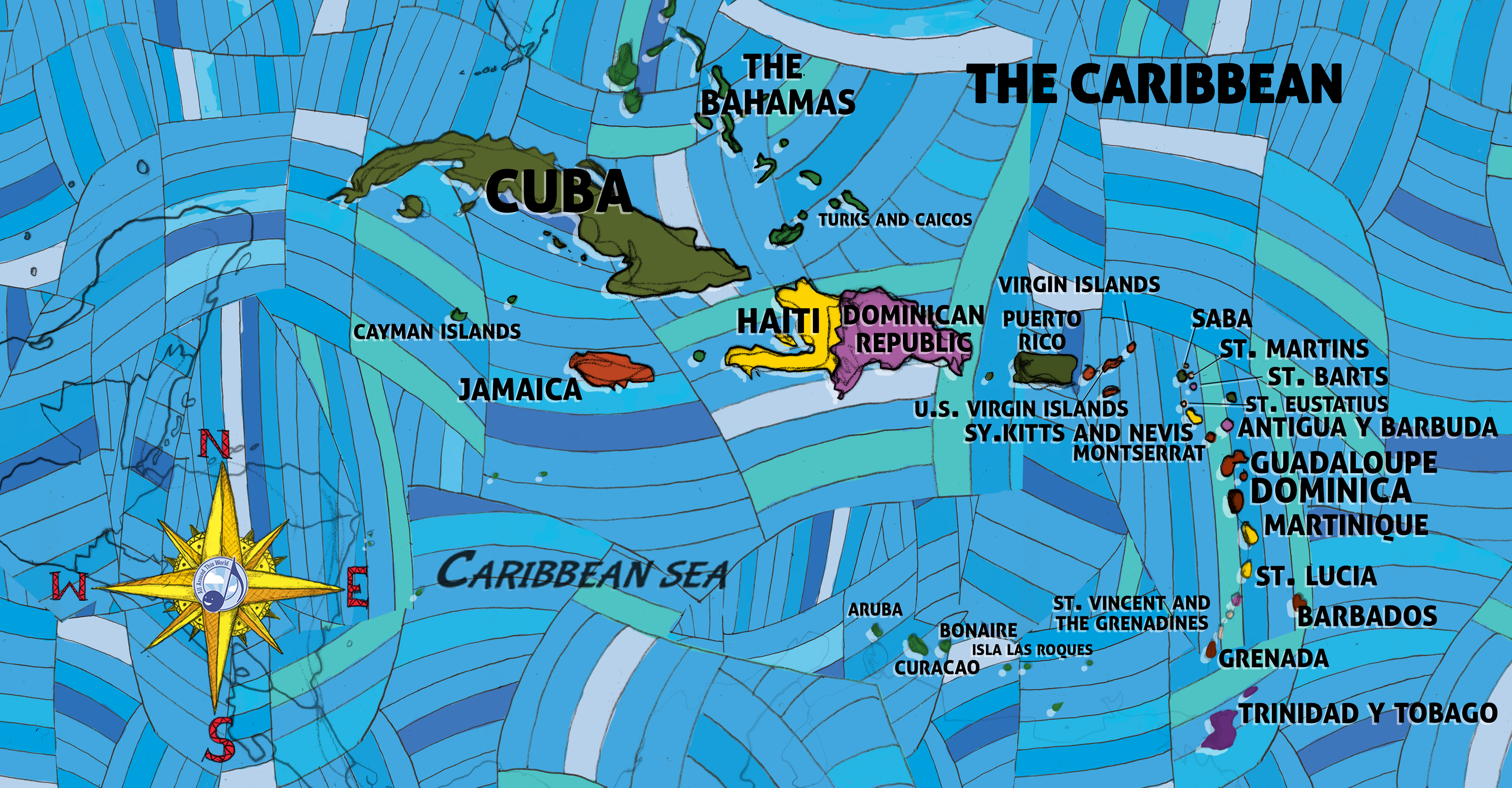 Jay Sand -- All Around This World: The Caribbean