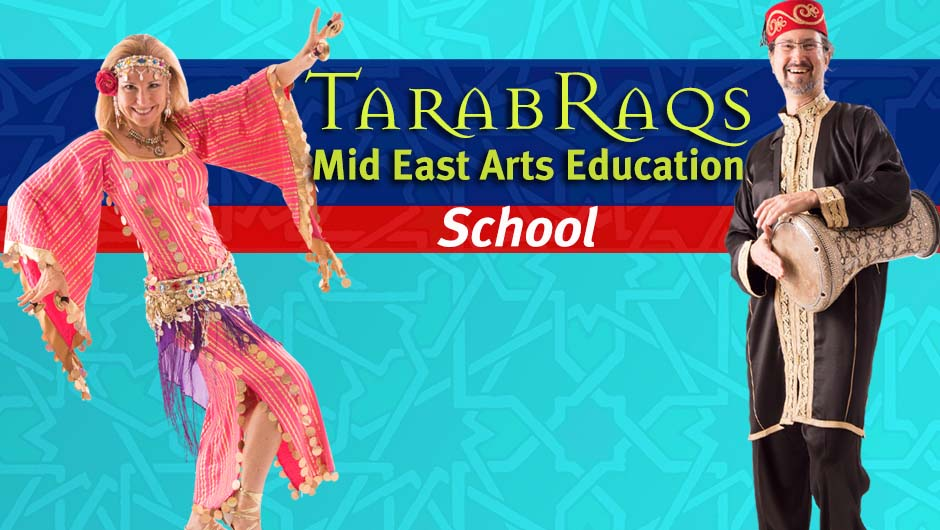 Jensuya & Robert Peak of TarabRaqs Mid East Arts Education Virtual School
