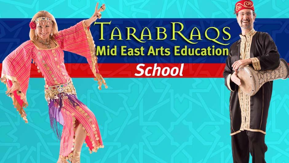 Jensuya & Robert Peak of TarabRaqs Mid East Arts Education Virtual School