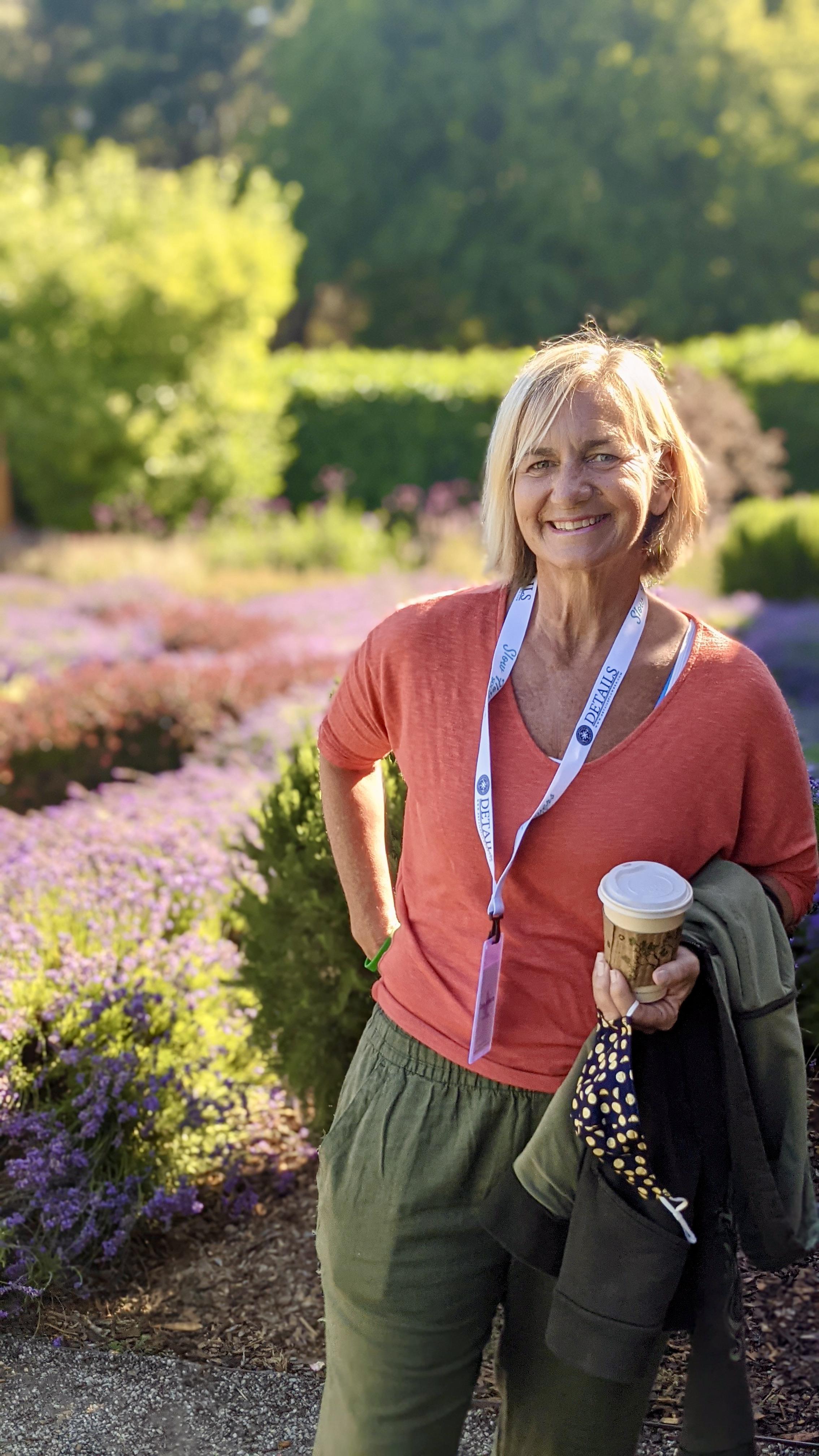 Casey Coleman Schwartz of Flower Duet in a Garden
