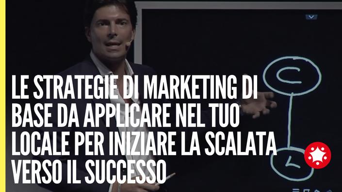 Le strategie di marketing di base da applicare nel tuo locale per iniziare la scalata verso il successo