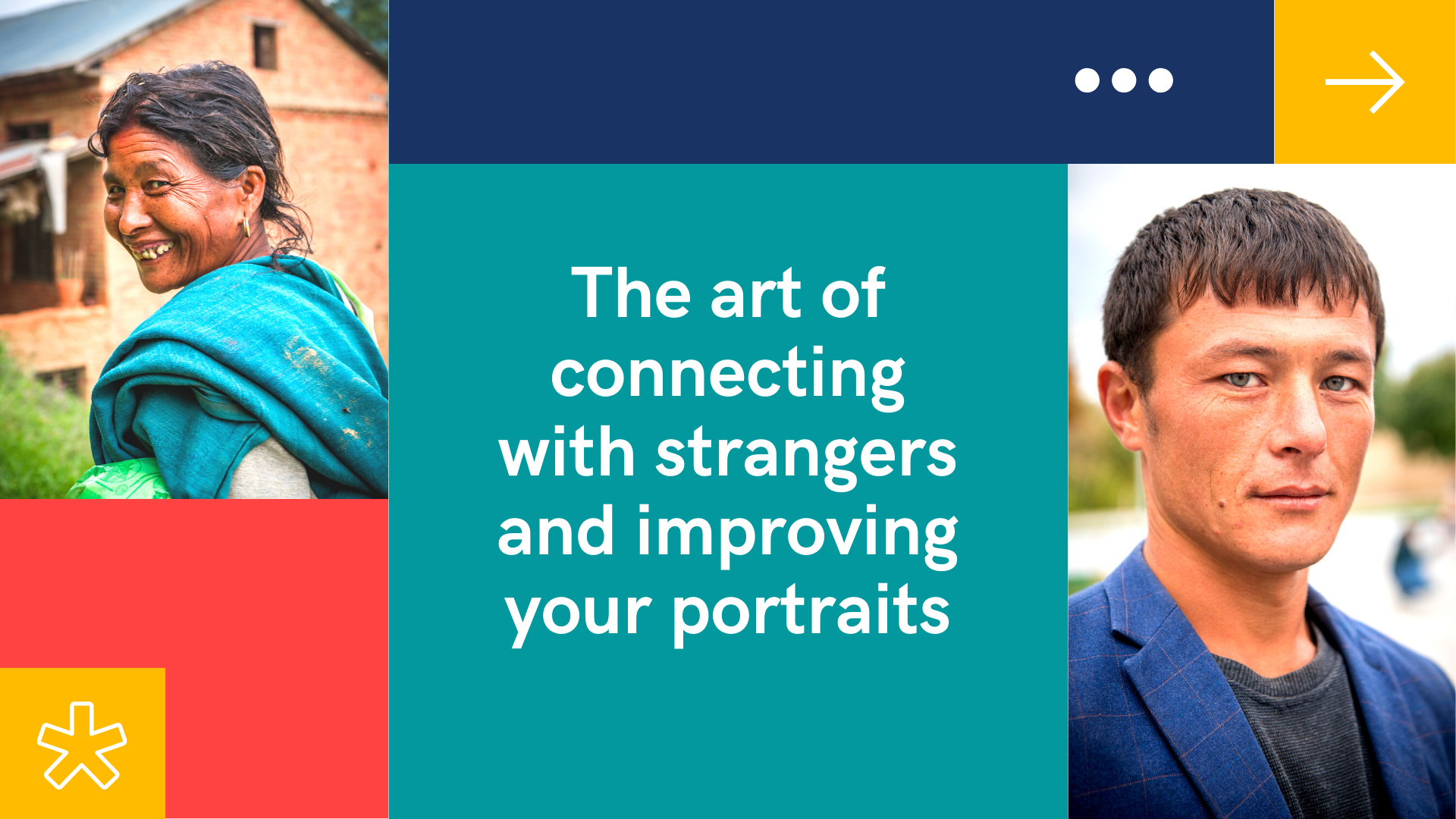 The art of connecting with strangers and improving your portraits  - Lola Akinmade Åkerström