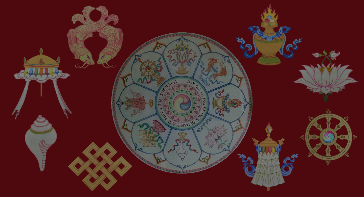 The 8 Auspicious Symbols Thangka Art Course