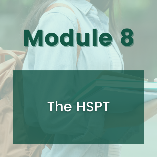 Section 8 - The HSPT