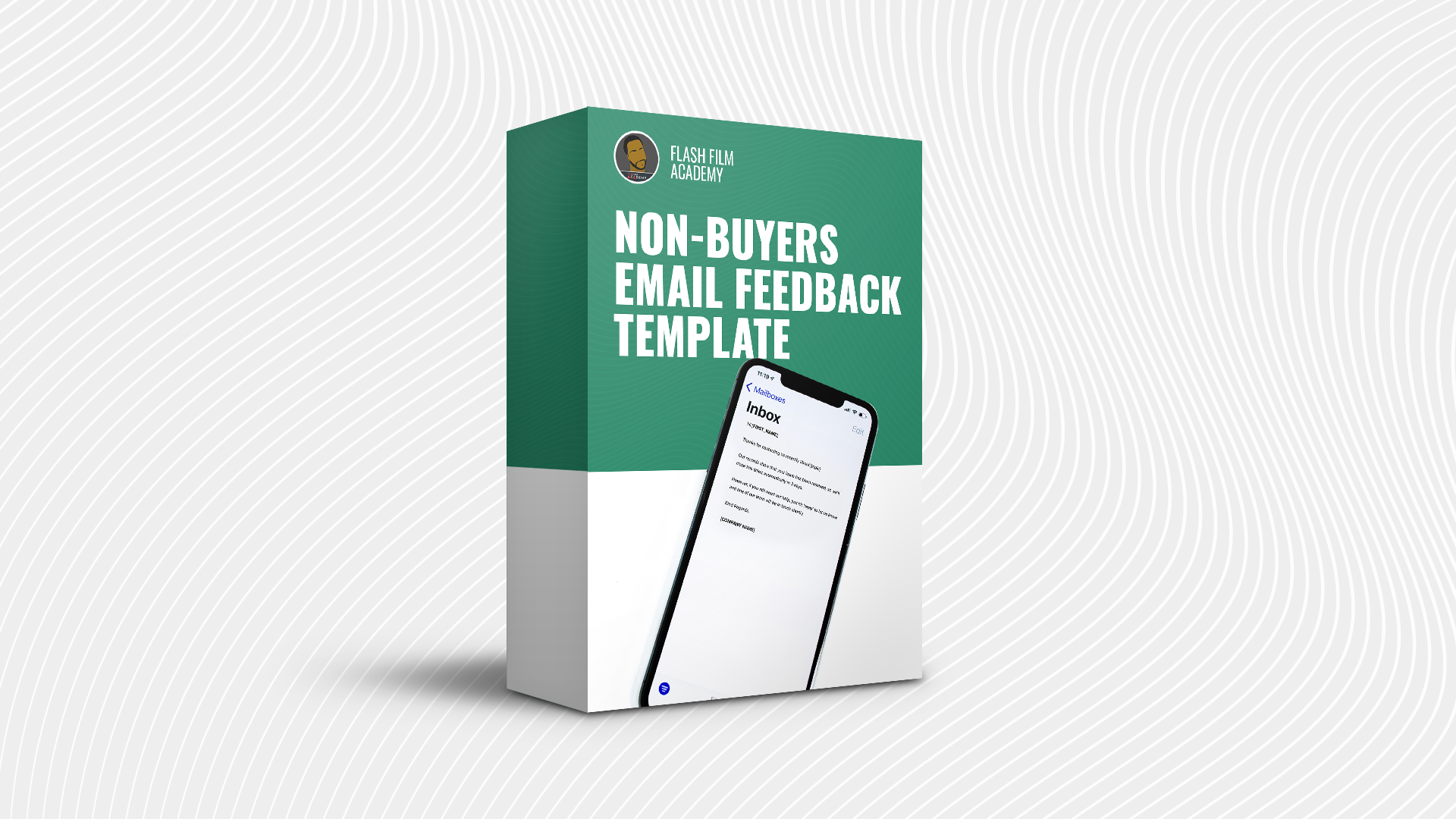 Non-Buyers Email Feedback Template