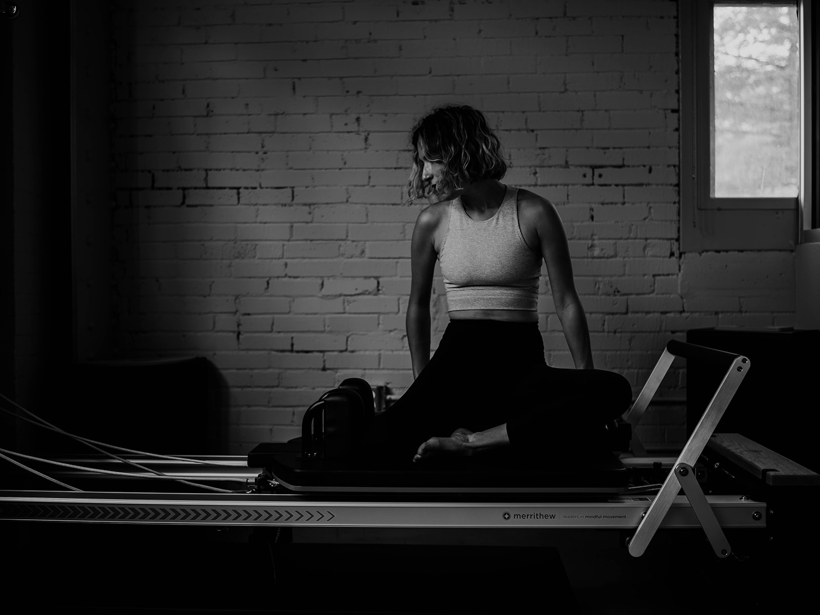 Stott Pilates Mermaid on the Reformer at home workout