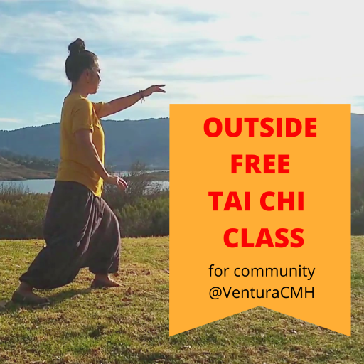 Free outside Tai Chi class for Ventura community at Community Memorial Hospital.